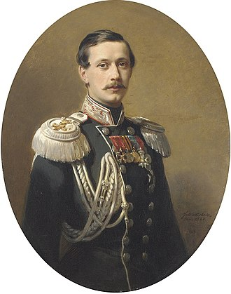 Pavel Andreyevich Shuvalov - Count Shuvalov by Franz Xaver Winterhalter (1860)