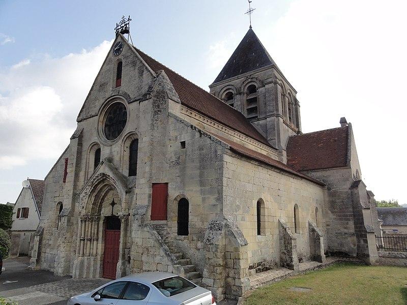 Courmelles (Aisne) église