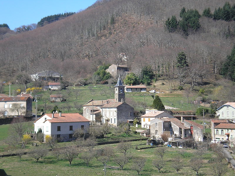 Courniou (Hérault) - vue générale de Marthomis.
