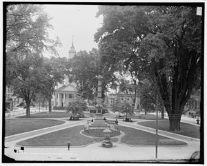 Court Square - Court Square around 1905