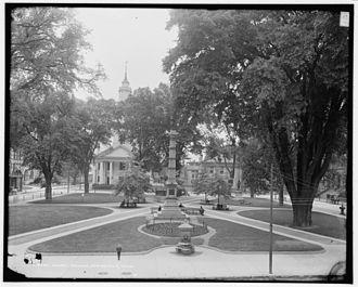 Court Square - Court Square around 1905