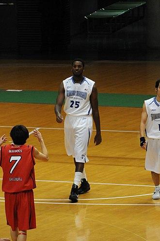 Toyotsu Fighting Eagles Nagoya - Image: Courtney williams