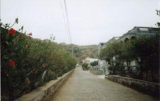 Cova Joana Settlement in Brava, Cape Verde