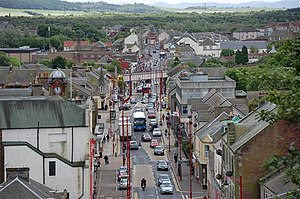 Cowdenbeath - Image: Cowdenbeath High Street