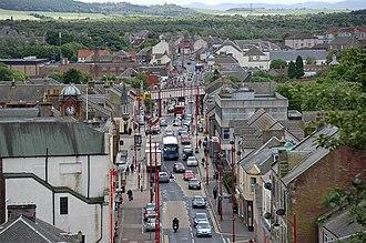 Cowdenbeath - Image: Cowdenbeath High Street