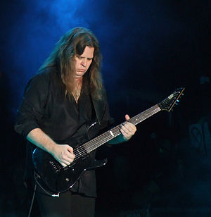 Craig Goldy - Craig Goldy performing with the tribute formation DIO Disciples at Kavarna Rock Fest in 2012.