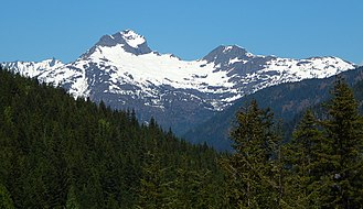 Crater Mountain - Image: Crater Peak, North Cascades