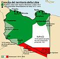 Crescita del territorio della Libia.jpg