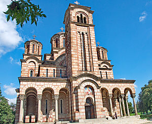Religion in Serbia - St. Mark's Church, Belgrade