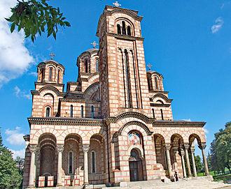 St. Mark's Church, Belgrade - Image: Crkva svetog Marka, Beograd 05