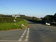 Crossroads near Coulton, North Yorkshire.jpg