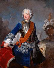Crown prince Friedrich II, by Antoine Pesne
