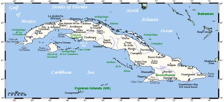 Florida To Cuba Map.Geography Of Cuba Wikipedia