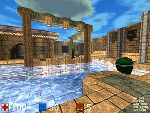 Cube (video game) - Screenshot of Cube (2007).
