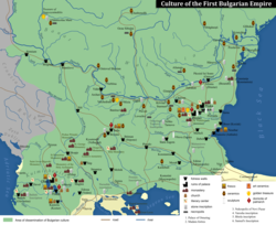 A map of Bulgarian culture