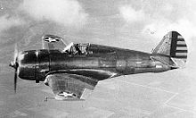 Curtiss P-36 Hawk.