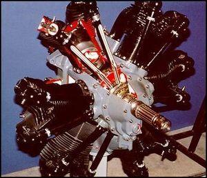 Curtiss R-600 - Preserved R-600 engine