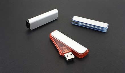 Assortment of Flash Drives Custom USB Drives.JPG