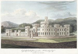 Cyfarthfa Castle - Cyfarthfa Castle, c.1840