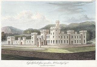 Cyfarthfa castle, Glamorganshire