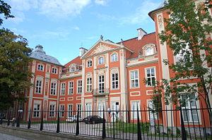 Czapski Palace - Czapski Palace, side view