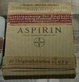 D-BW-Heidelberg - Deutsches Apothekenmuseum - Aspirin 2.JPG