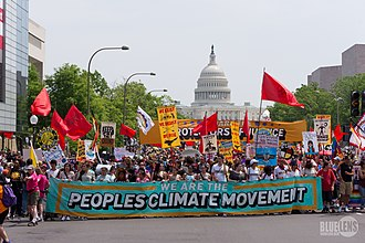 Environmental movement in the United States - People's Climate March (2017).