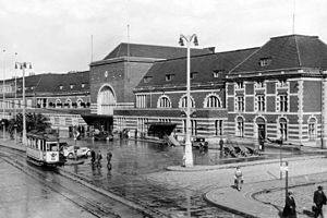 Münster Hauptbahnhof - The station after the 1930 reconstruction