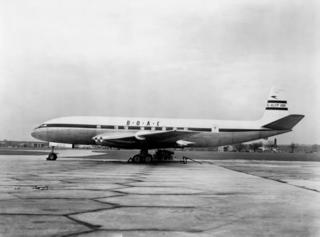 BOAC Flight 781 Fatal crash of de Havilland Comet passenger jet near Elba, 10 January 1954