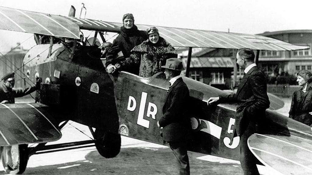 Un LVG C.VI de DLR, en 1919.