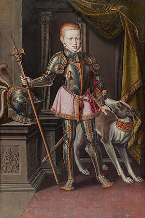 Sebastian of Portugal - Portrait of Sebastian of Portugal; Alonso Sanches Coelho, 1562.