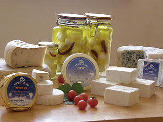 Animal product - Varieties of goat cheese