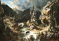 Dalige de Fontenay - Vue prise sur le chemin de la Maladetta.jpg