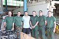 Damien Duff and his brother Sergeant Gerry Duff visit the troops of the Irish 106 Battalion in Tibnine Lebanon (7514516560).jpg
