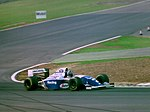 Damon Hill - Williams FW16 at the 1994 British Grand Prix (32541470425).jpg