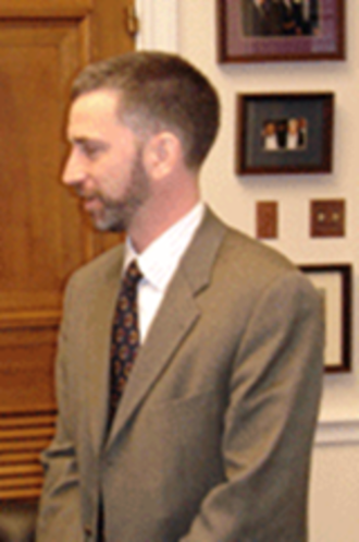 Dan Tangherlini - Dan Tangherlini at a meeting with Rep. Jim Moran in 2006