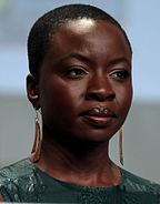 Gurira at the 2014 San Diego Comic Con International