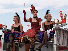 Dance hall girls Canada Day Dawson City.jpg