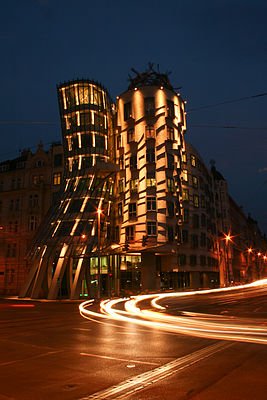 Frank Gehry's Dancing House