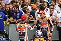 Dani Pedrosa and Marc Márquez 2015 Sachsenring 2.jpeg