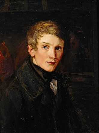Dankvart Dreyer - Dankvart Dreyer, Self-portrait, 1838