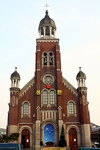 List of cathedrals in South Korea - Wikipedia, the free encyclopedia