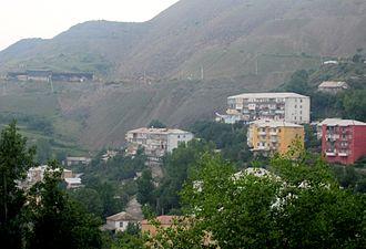 Daşkəsən - Image: Dashkasan city (e citizen)