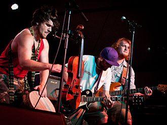 Blackbeard's Tea Party - L-R: Dave Boston, Martin Coumbe and Tim Yates