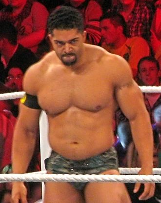 David Otunga - David Otunga on an episode of Raw in early 2011