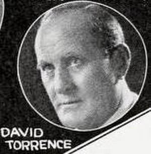 David Torrence - Torrence from a 1922 ad