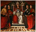 David ghirlandaio, San Romolo in trono e compagni, 1488.jpg