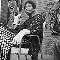 De Amerikaanse zangeres Nina Simone die met kerst op televisie zal verschijnen, Bestanddeelnr 918-5602.jpg