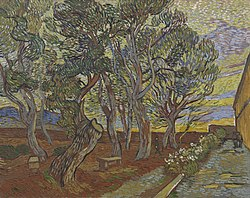 Vincent van Gogh: Garden of the Asylum
