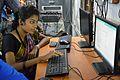 Debashri Pal Creating Wikipedia Account - Bangla Wikipedia National Seminar and Workshop - Hijli College - West Midnapore 2015-09-28 4448.JPG
